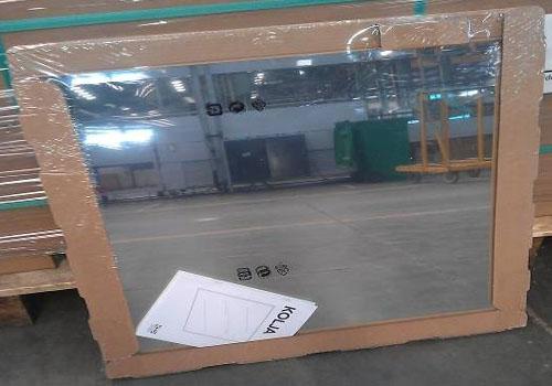 CE certification of unframed lead free mirror for bathroom