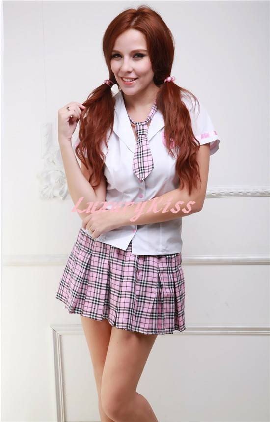 sell cutie and naughty school girl costume( CU2061)