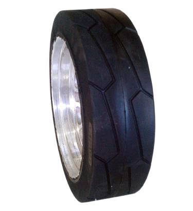ANair Auxiliary Plate Solid Tire 360x110, for Forklift and other industrial