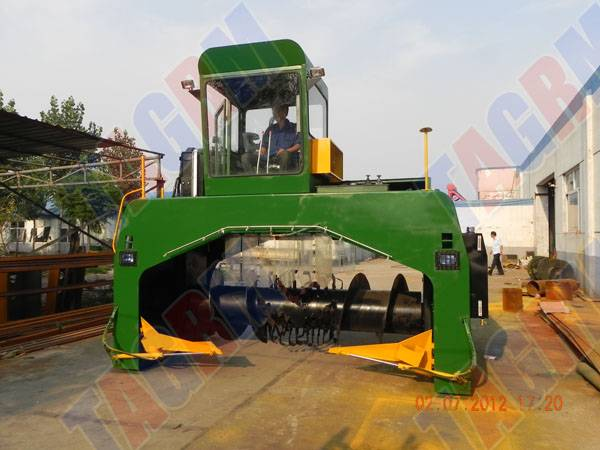 245hp high power composting machine/food mixer M3600