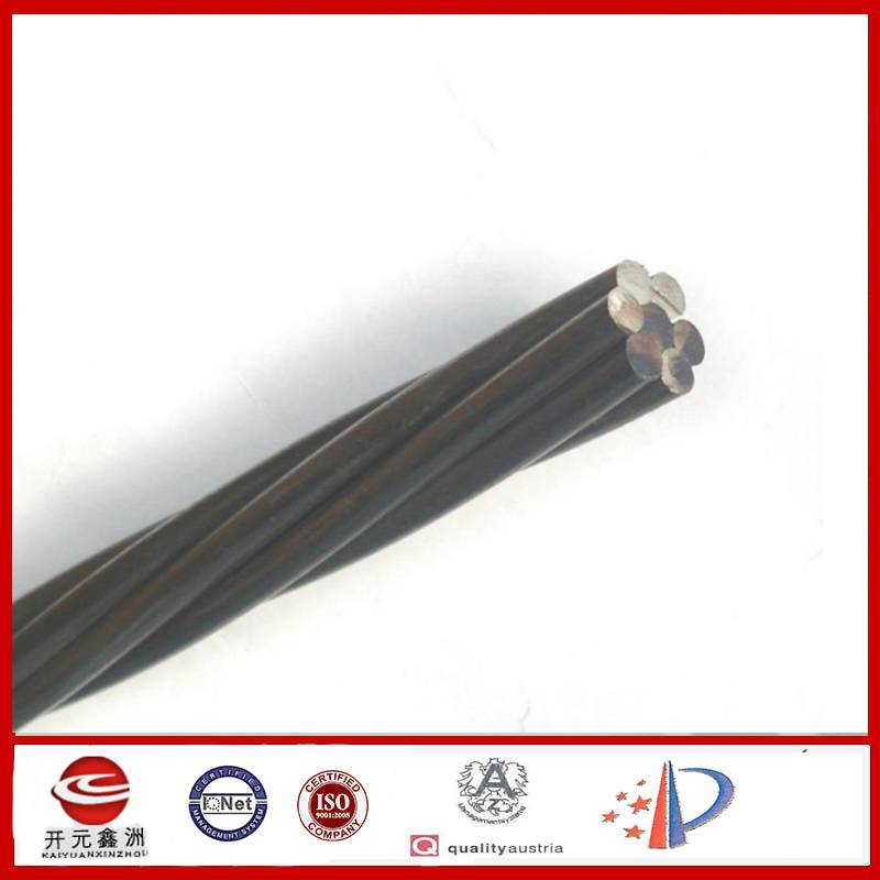 PC strand with low relaxation high tensile strength