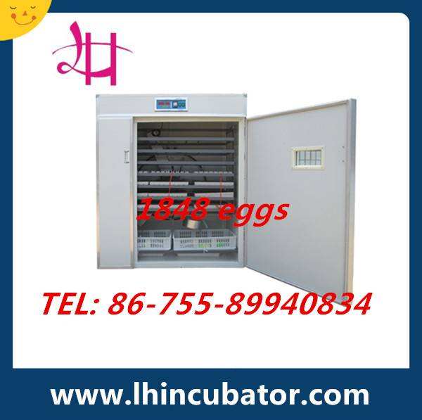 CE Marked High Efficient Automatic Chicken Egg Incubator