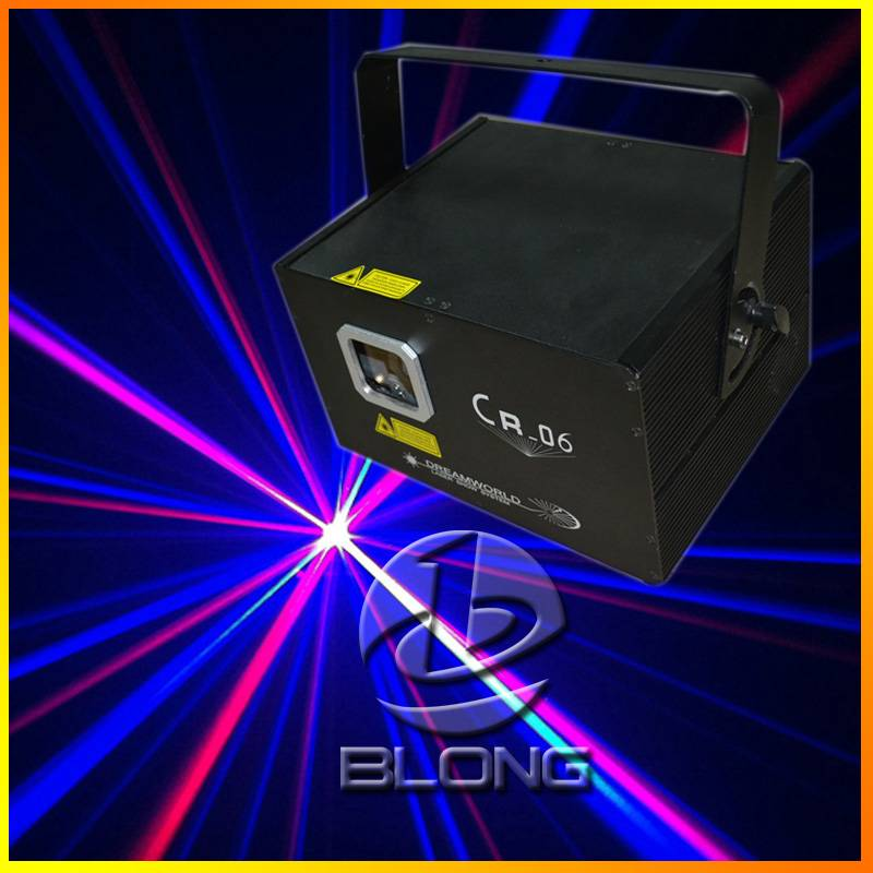 CR-06RGB full color stage lighting equipment stage laser light