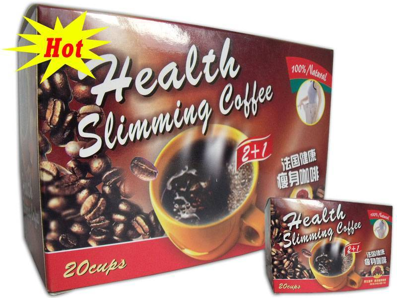 Health slimming coffee 2+1 coffee