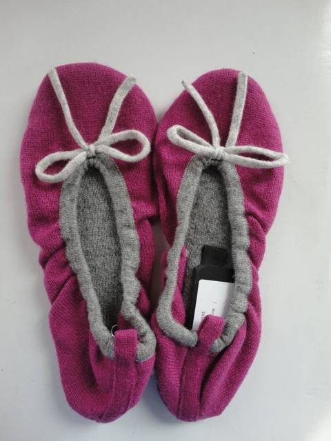 fashion ballet cashmere slippers