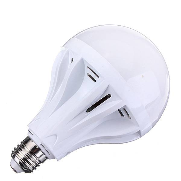 E27 12W Plastic LED Globe Bulb Light