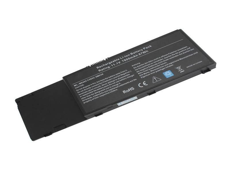 Replacement Battery For Dell Precision M6400,M6500