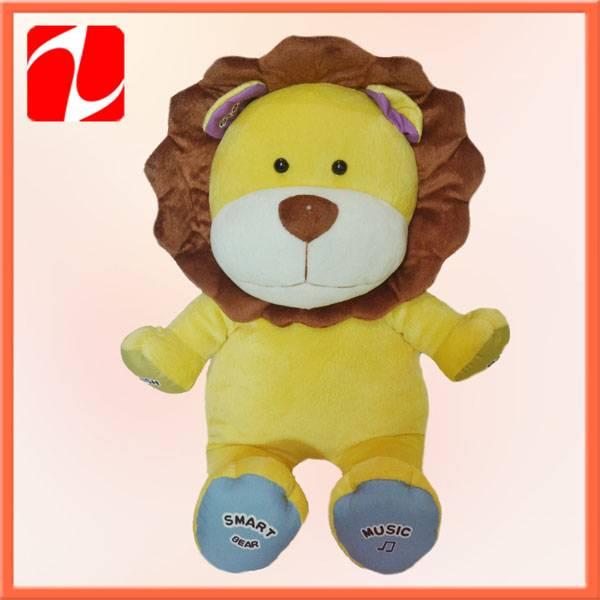 Cute baby lion toy