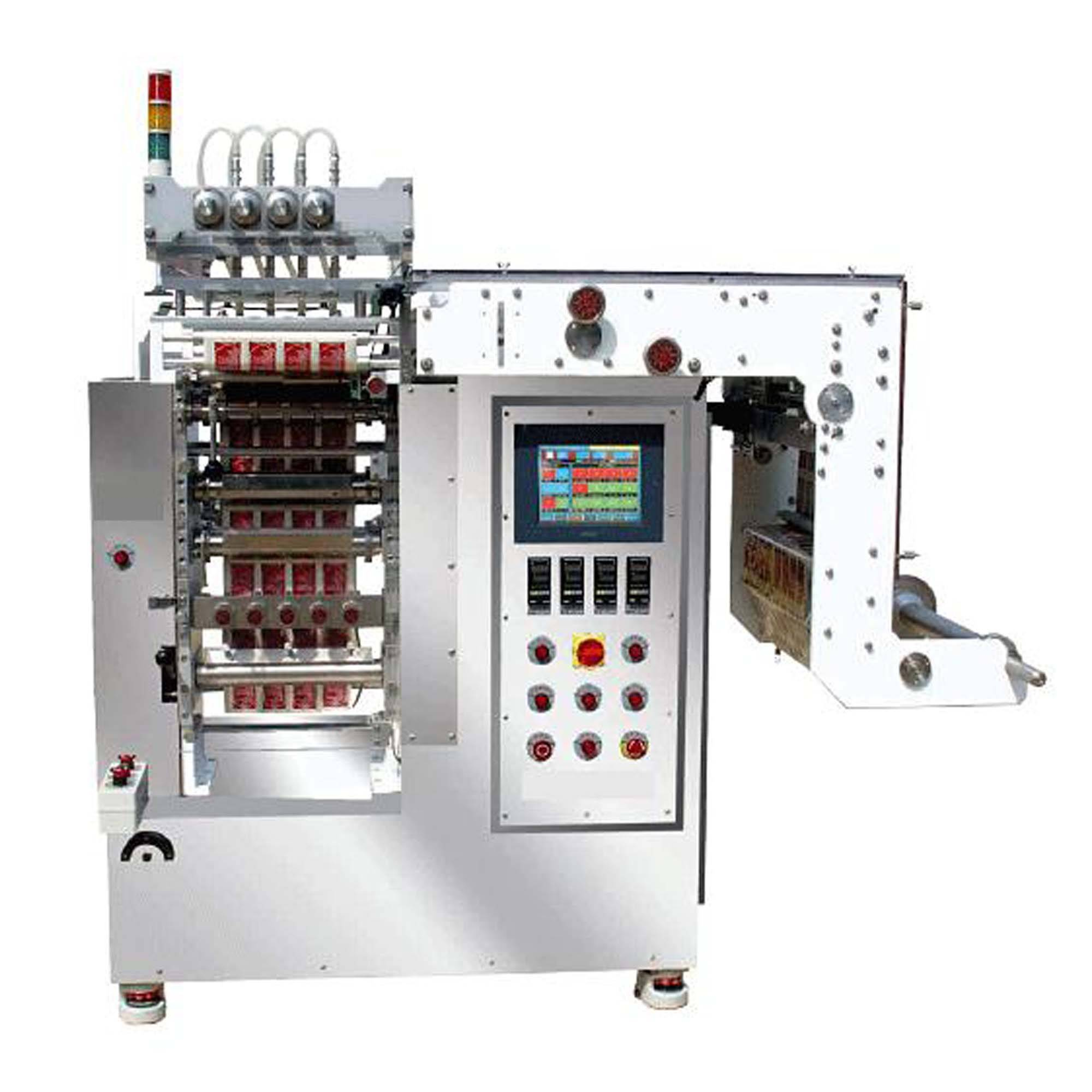 automatic multi lanes tomato paste packing machine