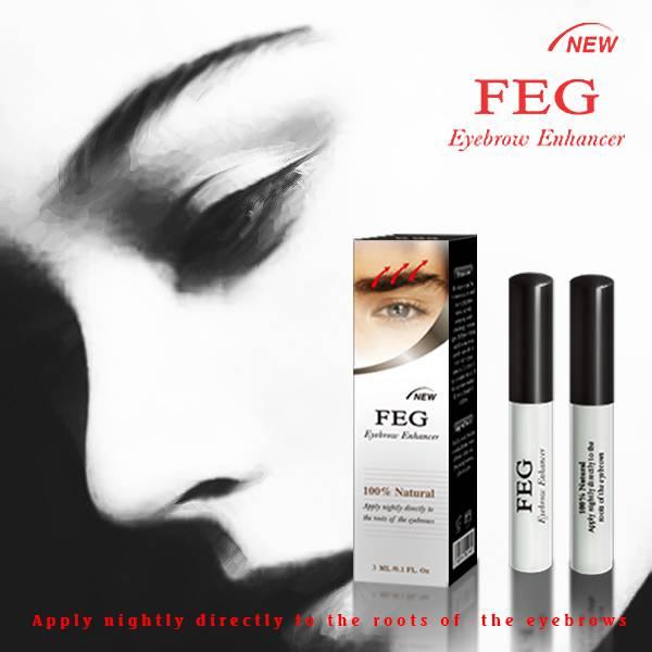 2014 herbal eyebrow growth products-feg eyebrow enhancer serum