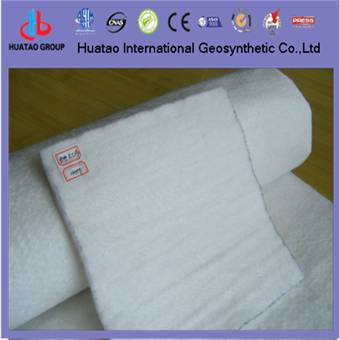 short fiber nonwoven geotextile