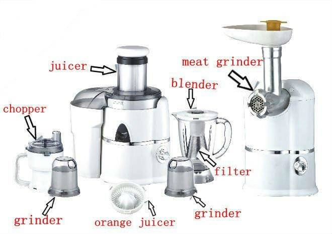 Multifunction food processor AK-868 12in1 With Meat Mixer