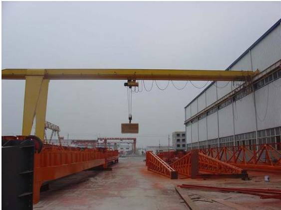 Chinese manufacturers in the production of the BMH types of 2 t - 10 t electric hoist gantry crane