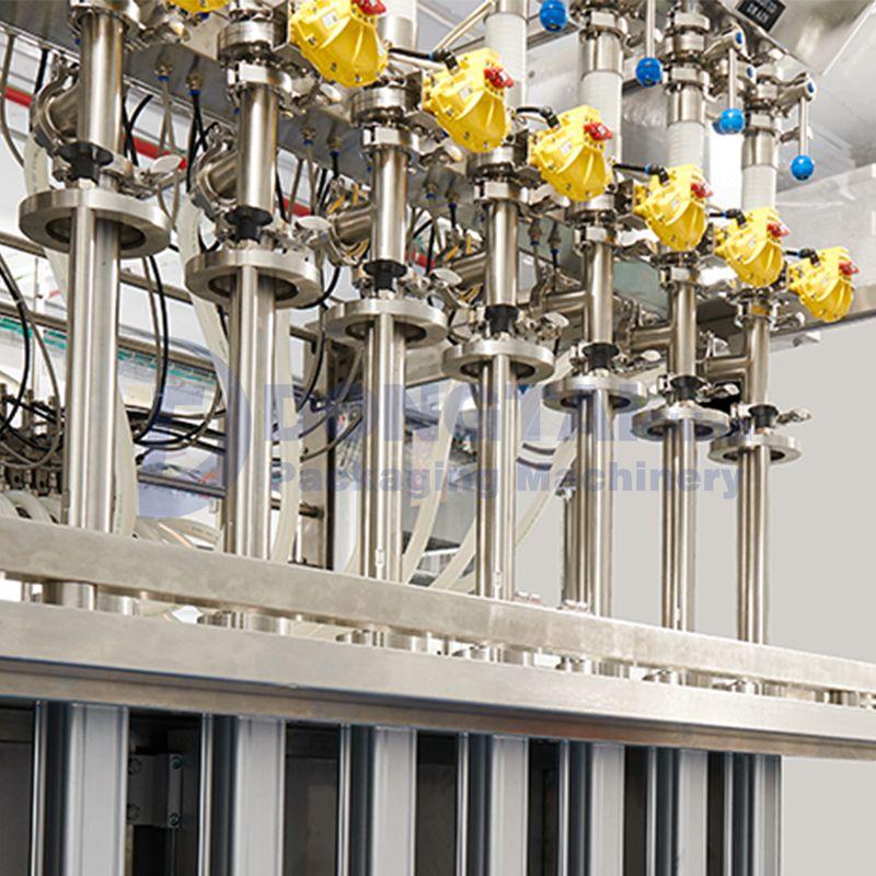 Automatic glass bottle liquid filling machineBottle Liquid Filling Machine