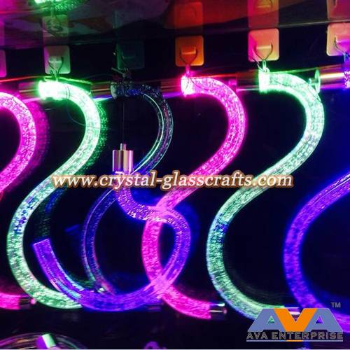PMMA acrylic plastic rod for decorative LED lighting