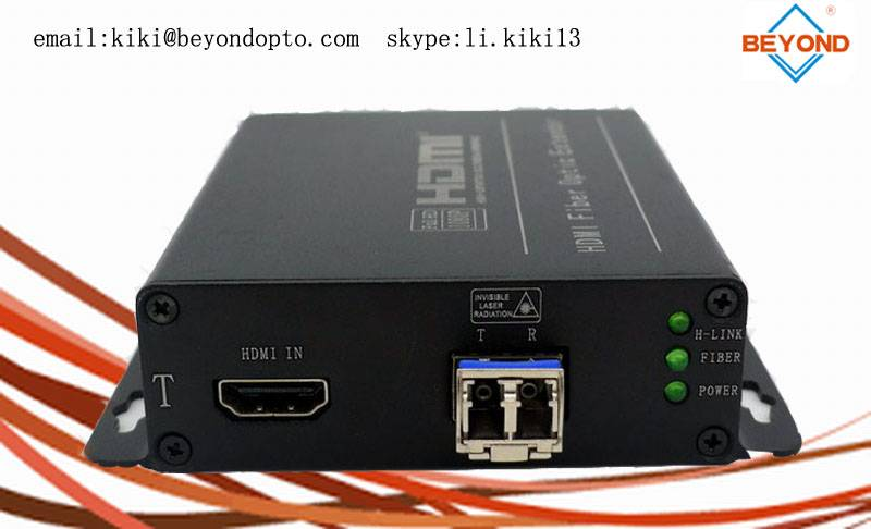 4k HDMI extender to fiber optic support 10G for monitor or projector