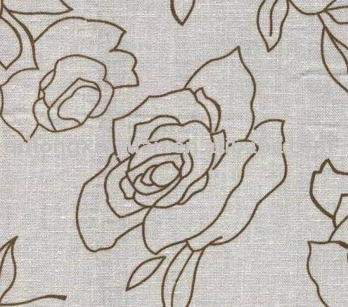 CVC 50/50 grey fabric