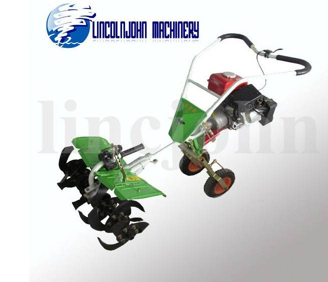 light weight easy operate family use garden cultivator