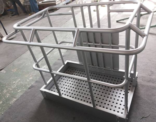 Aluminium Forklift Safety Cage High Quality Cage HL-006