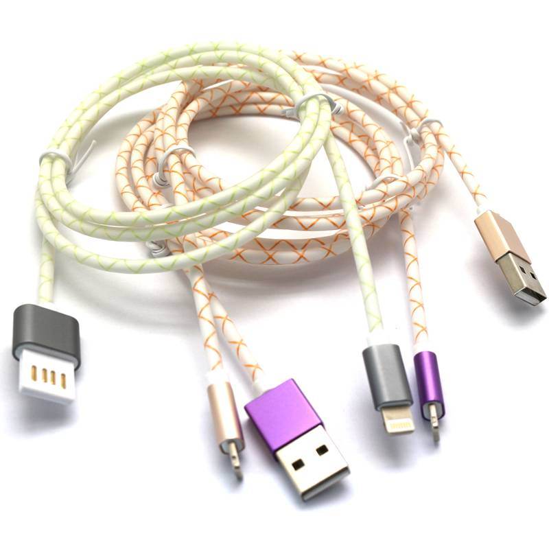 aluminum mobile phone USB data cable 1M/ 2M/ 3M