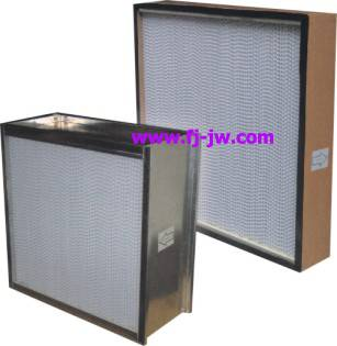 supply H13 H14 hepa filter with separator or without separator