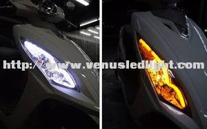 HOT 2x 45cm Amber Switchback Headlight Audi Style white LED Strip Drl Run Light