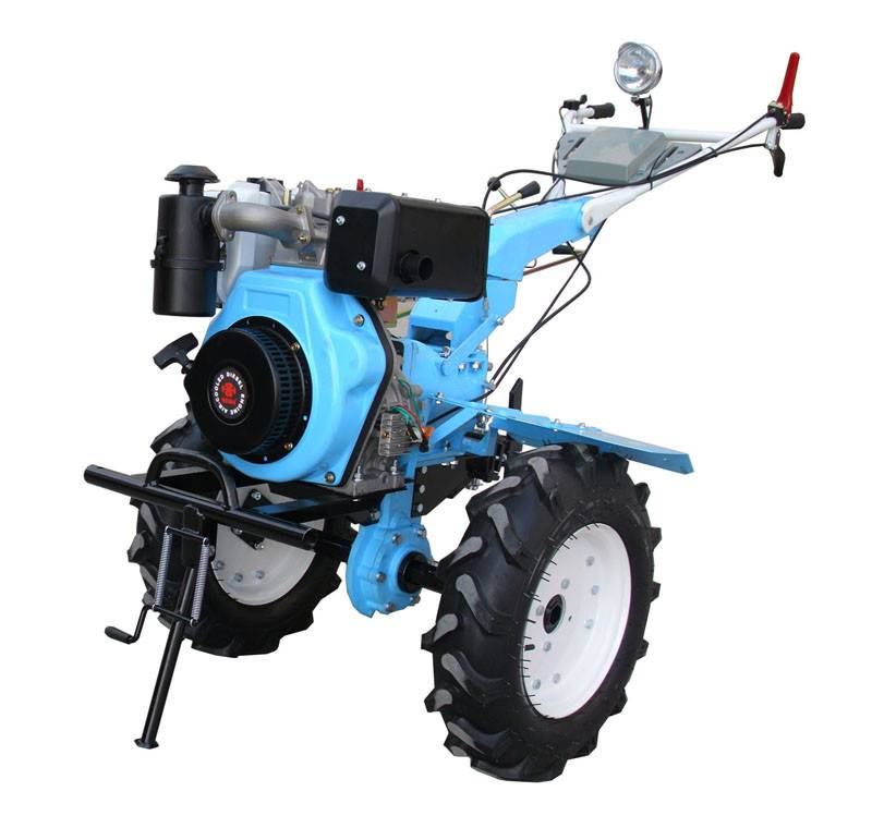 Gasoline Tiller with lamp and 186F diesel engine with high quality