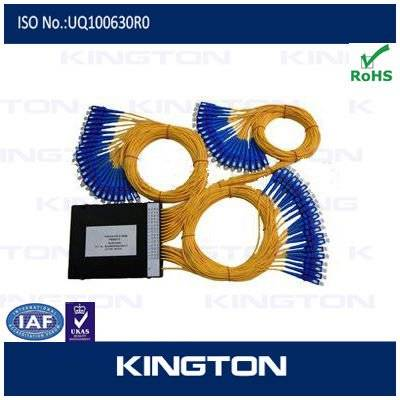 1x64 ABS box type Optical Fiber PLC Splitter For GPON,FTTH