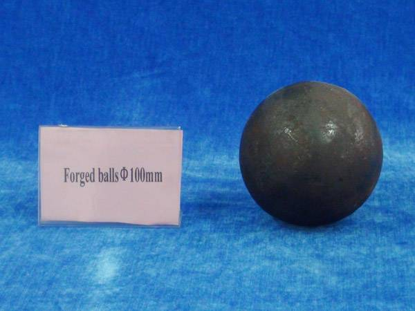 Forged steel media ball 100mm