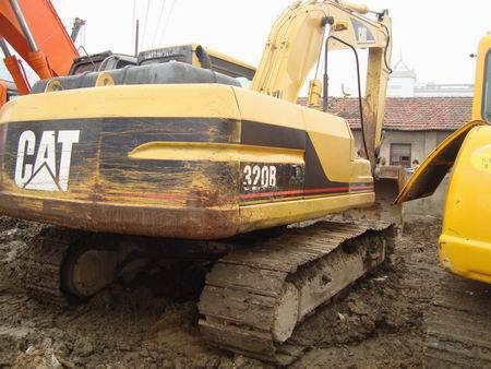 caterpillar 320b excavator for sale