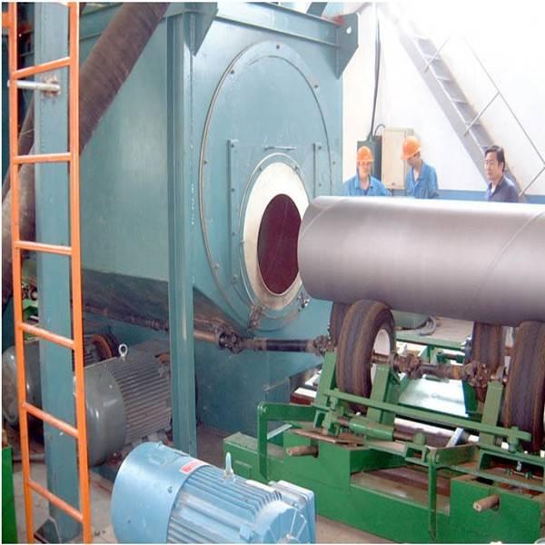 Approved Pipe Shot Blasting Machine / Pipe Sand Blasting Equipment