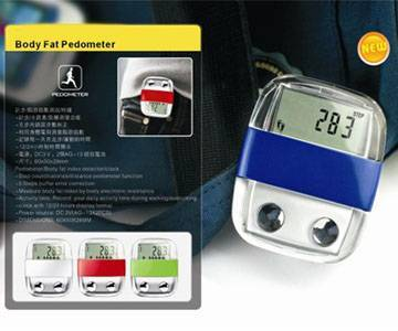 Pedometer with Body Fat Analyzer P-782