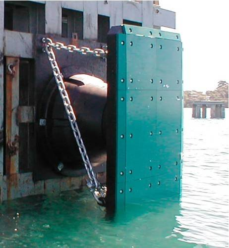 TLT cone type marine dock rubber fender