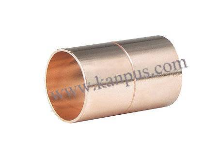 Copper Coupling for refrigeration and air conditioning (copper fitting, plumbing fitting)