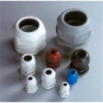 Free samples waterproof connector strain relief gray black Watertight nylon cable gland