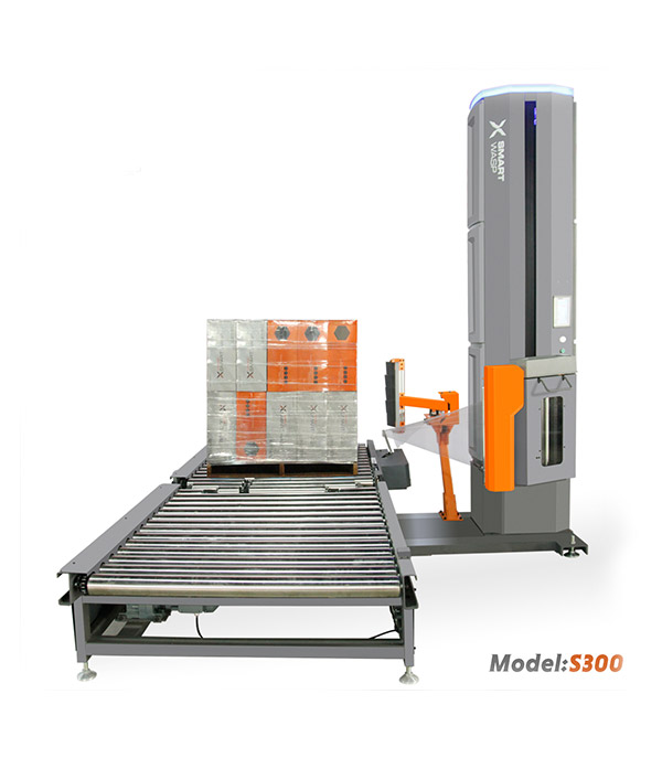 S300 Model Inline Fully Automatic Pallet Wrapping Machine