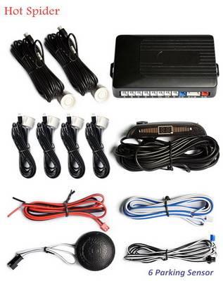 LED 6 parking sensor-Car radar