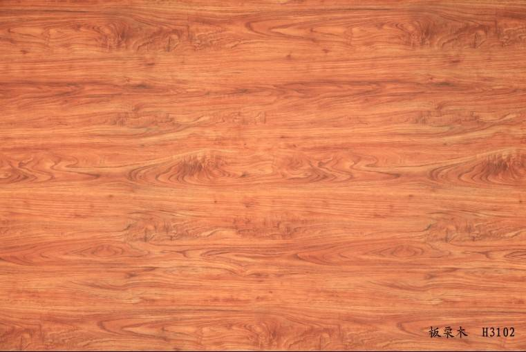 wood grain decorative paper for floor