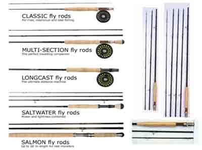 Fly Fishing Rods (Fishing Reels, Fishing Lines)