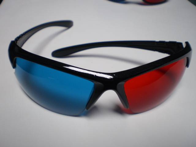 Professional 3D Anaglyph Glasses