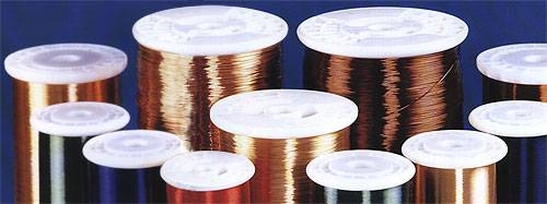 enamelled magnetic copper & Al wire