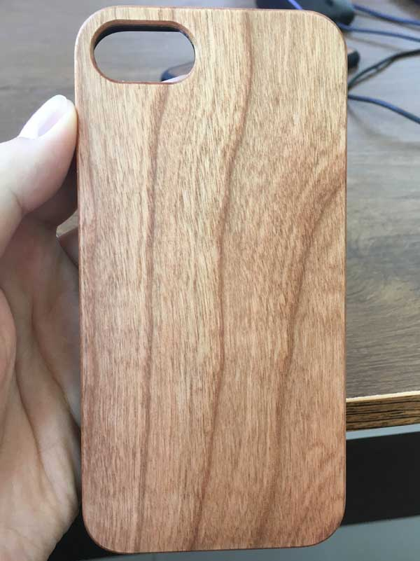 2019 Trending Products Real Wood PC Mobile Phone Hard Case For iphone wood case,
