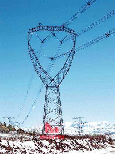 UHVDC transmission tower(MG-UHVDC07)
