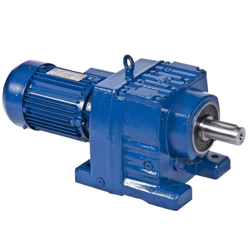 Sell helical bevel geared motor