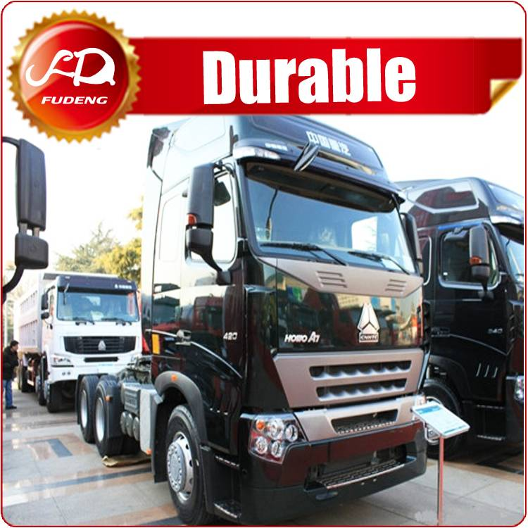 Large horse power 420hp tractor truck for sale in tanzania