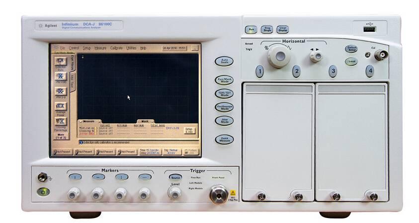 For Sale: Used Test Equipment Oscilloscope Agilent 86100C $13,500