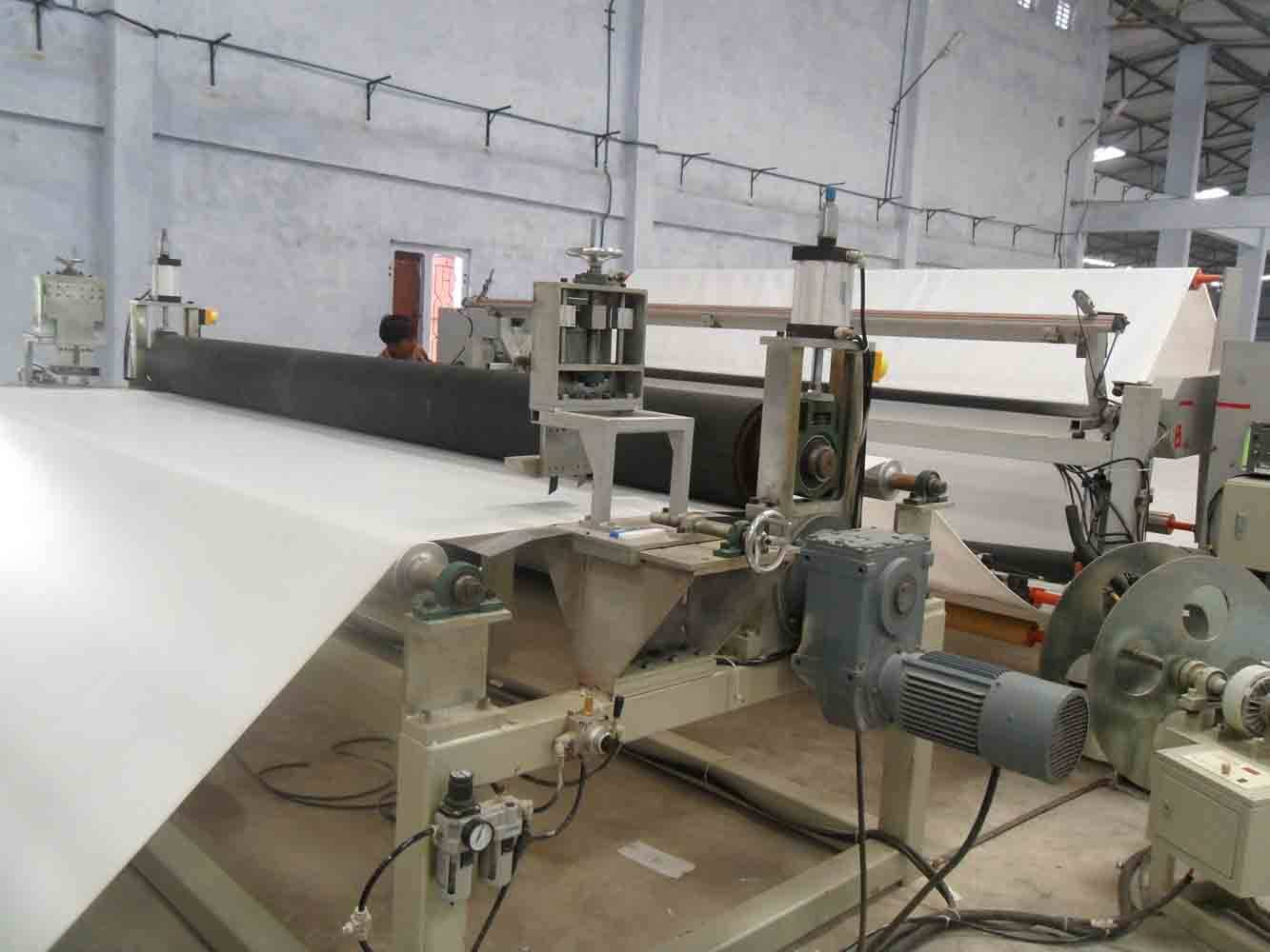 PVC flex banner production line