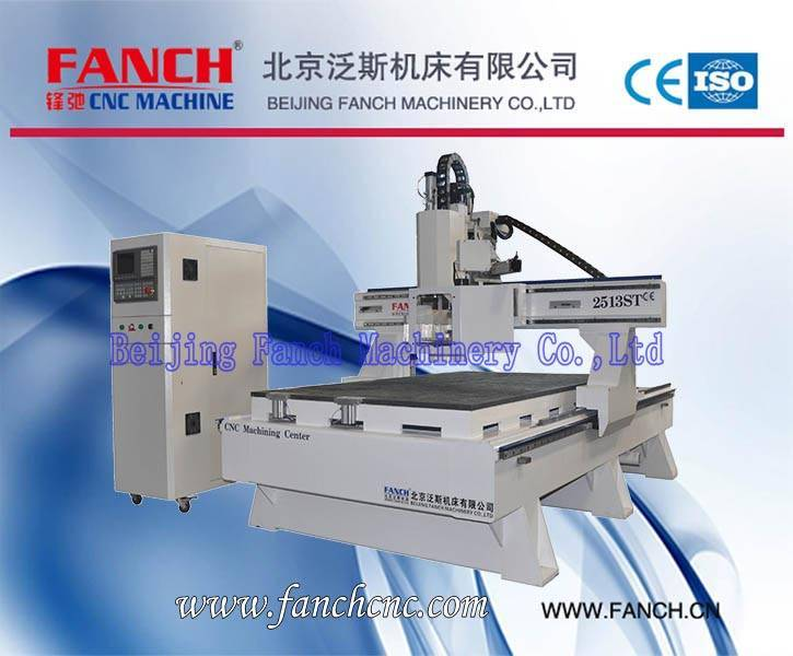 Offer Wood CNC Gantry Moving Machining Center