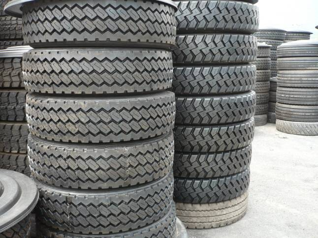 Used tyres, casisngs for retreading,