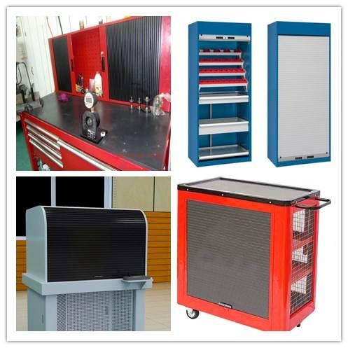 roller shutter for steel cabinet